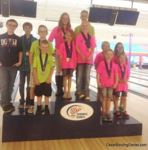 2015 Utah Summer Games Kid Bowling