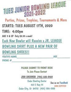 Junior Bowling League